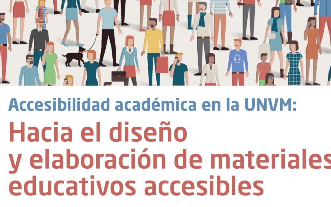 Accesibilidad académica en la UNVM