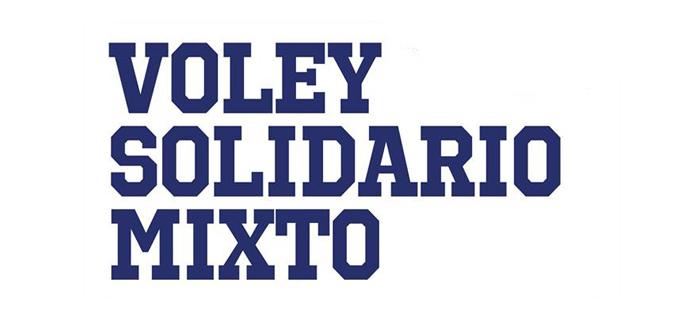 Voley solidario Mixto