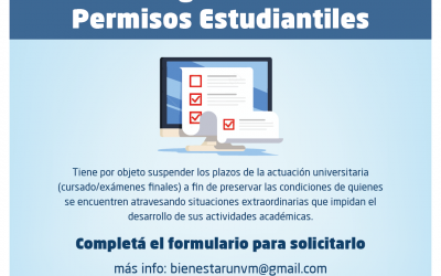 Régimen de Permiso Estudiantil: Cómo tramitarlo